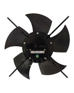 ebm-papst S3G500-DM56-35 - Farmerski energooszczędny wentylator kominowy fi50 o regulowanej wydajności, możliwość montażu jako mieszacz powietrza, bardzo cichy idealny do upraw szklarniowych, obory kurnika, chlewni